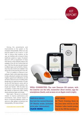 Diabetes kit  Dexcom CGM sensors G6