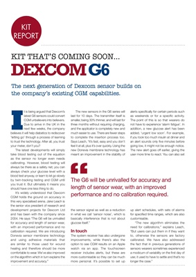 Diabetes kit  Dexcom CGM sensors G6