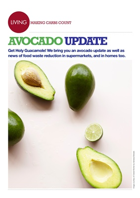 Counting carbohydrates avocados