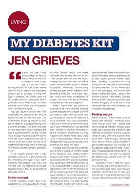 My Diabetes Kit Miss Jen Grieves