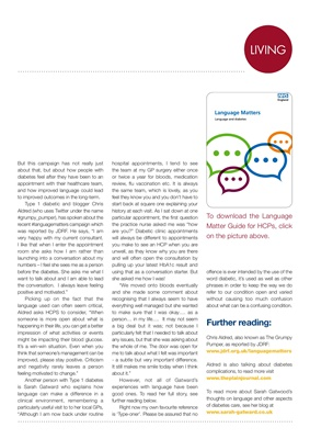 Language matters in diabetes care