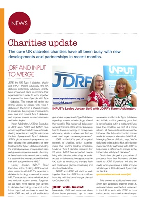 Desang diabetes magazine diabetes news, diabetes charities