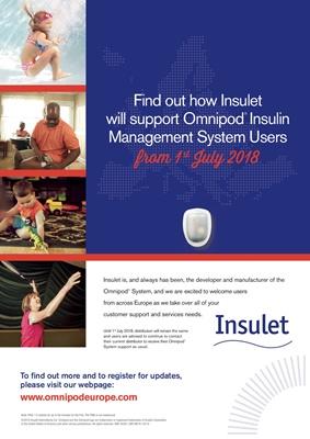 Omnipod Insulet insulin pump with insulin pods