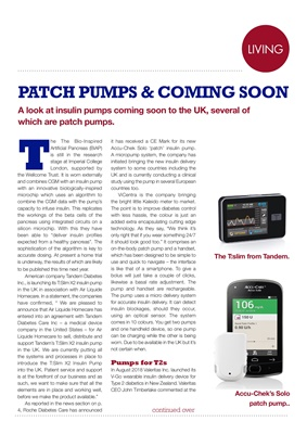 Insulin pumps UK 2018