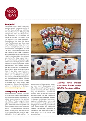 Diabetes food news, desang diabetes magazine, meat snacks group
