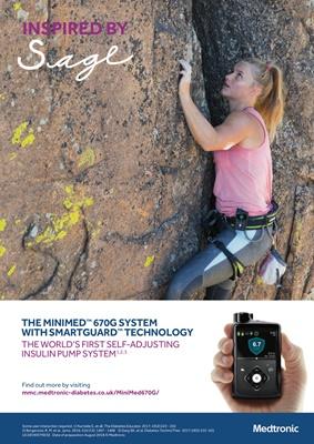Medtronic Minimed 670G hybrid closed loop insulin pump