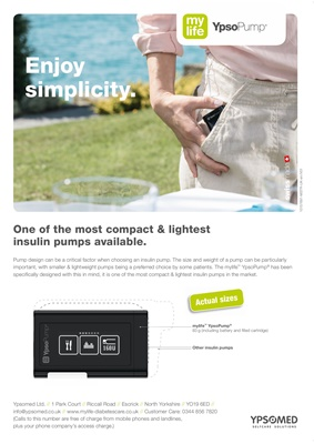 Ypsomed MyLife Diabetes care insulin infusion systems