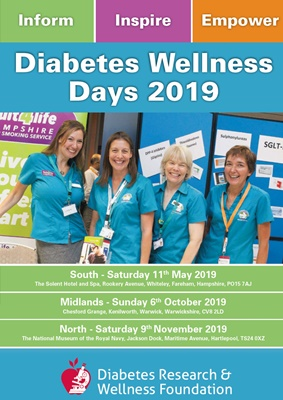 DRWF wellness days, diabetes research and wellness foundation