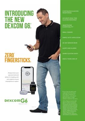 Dexcom CGM, continuous glucose monitoring