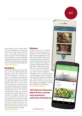 Desang diabetes magazine, diabetes technology news