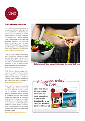 Desang diabetes magazine food news