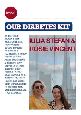 Diabetes kit, Desang diabetes magazine