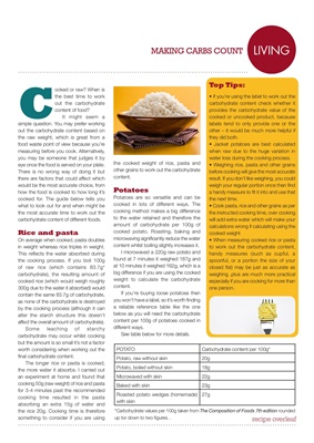 desang, diabetes diet, diabetic diet, counting carbohydrates, food for diabetes, Lisa Bailey, The Ca