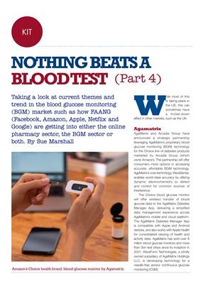 blood glucose monitoring, blood testing, Amazon Choice blood glucose monitor