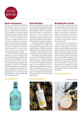 Desang diabetes magazine, diabetes diet, Salcombe Gin, Monica Galetti