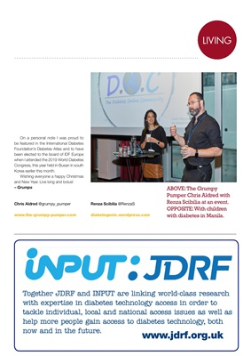 JDRF, INPUT, diabetes technology, access diabetes technology