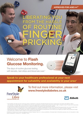 Abbott FreeStyle Libre glucose sensor