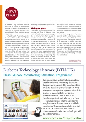 Association of British Clinical Diabetologists (ABCD), Diabetes Technology Network (DTN)