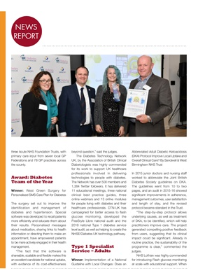 Quality in Care (QiC) diabetes awards, Sanofi diabetes, Type 1 diabetes
