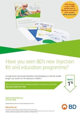 BD, Becton Dickinson, injection technique, BD pen needles