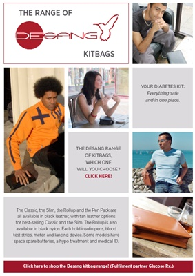 : Desang diabetes kitbags, bag for diabetes kit