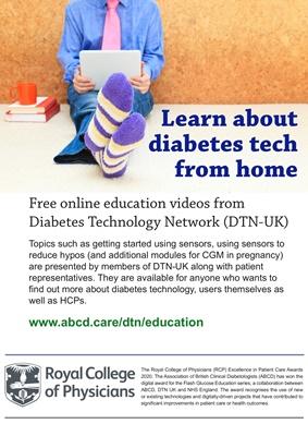 Diabetes technology education