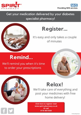 Spirit pharmacy national medicines dispensing service and advice for people with