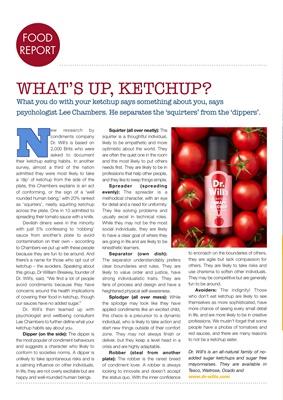 Desang diabetes magazine, diabetes diet, Dr Will's sauces
