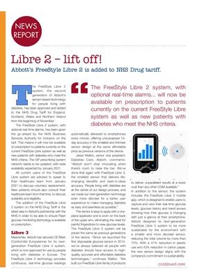 Abbott Freestyle Libre, Flash Glucose Monitoring