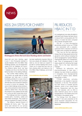 Desang diabetes magazine diabetes news, Diabetes UK Wales