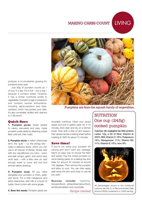 Desang Diabetes Magazine, Making Carbs Count, carbohydrate counting for diabetes