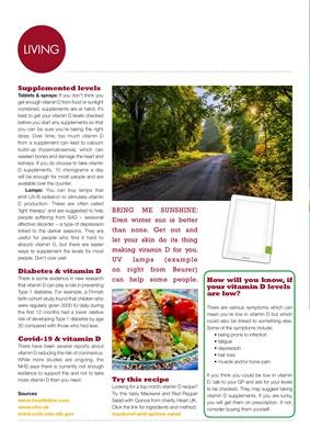 Vitamin D and diabetes, desang diabetes magazine