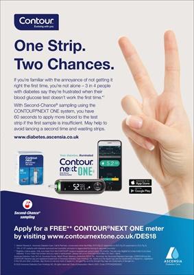 scensia Contour Next One Diabetes blood test meters
