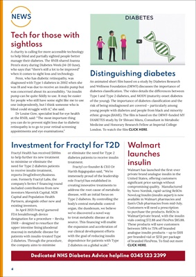 Diabetes news, Walmart's own insulin, investment for Fractly