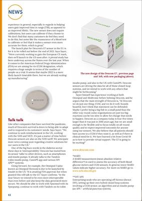 Dexcom CGM G6, continuous glucose monitoring
