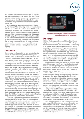 Desang diabetes magazine, my diabetes kit, Tandem t-slim insulin pump
