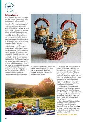 Mandira's Kitchen, Desang Diabetes Magazine