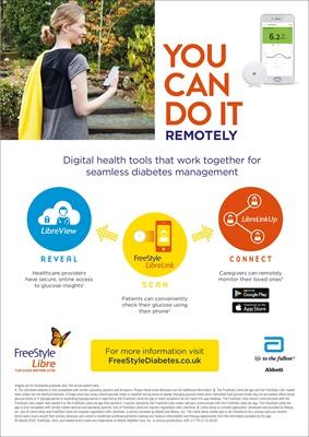Abbott Freestyle Libre 2, Flash Glucose Monitoring, FSL2