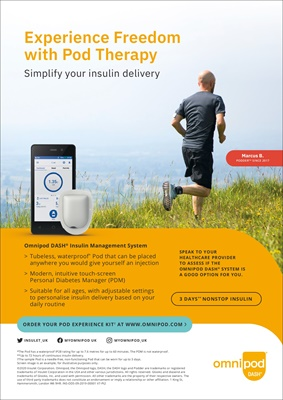 Insulet Omnipod DASH insulin pump with insulin pods, podders, Omnipod DASH Personal Diabetes Manager