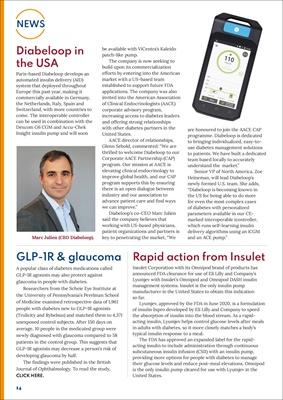 diabetes news, GLP-1s, Diabeloop
