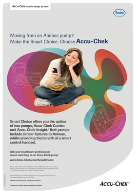 Accu-Chek Insight insulin pump for Animas users