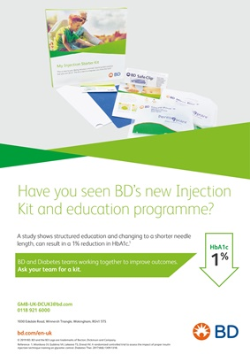 BD, Becton Dickinson, injection kit, injection technique, injecting insulin, injection education, fr