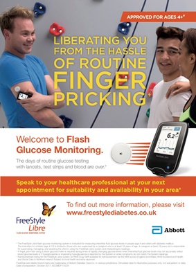 Abbott Freestyle Libre, Flash Glucose Monitoring