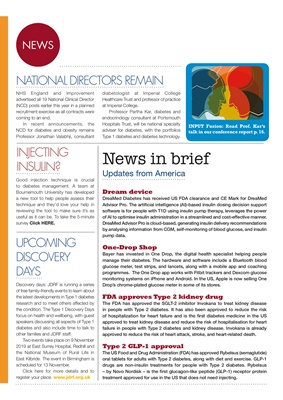 Partha Kar, Desang diabetes news