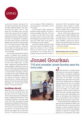 JDRF Input Fusion, diabetes technology