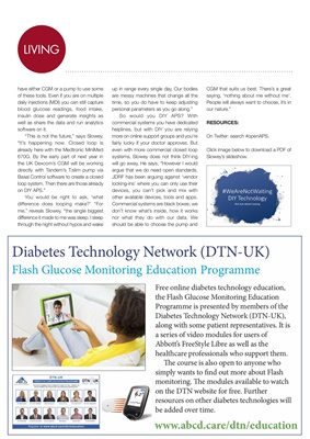 ABCD DTN Diabetes Technology Network, Flash Glucose Monitoring education programme
