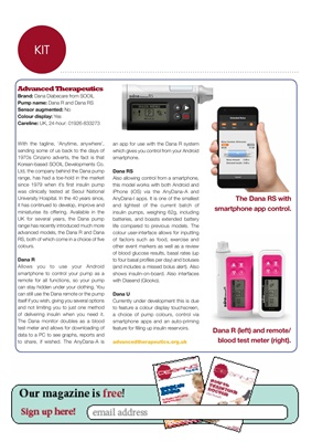 Advanced Therapeutics Dana insulin pumps
