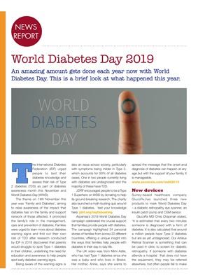 World Diabetes Day, Ascensia Diabetes Care