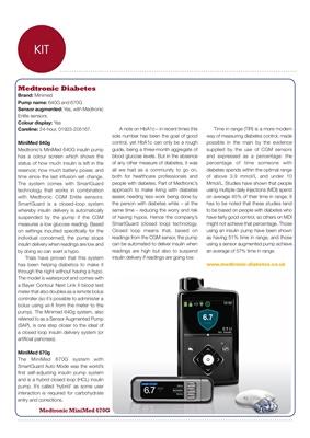 Desang insulin pump overview, Medtronic insulin pumps Minimed 670g