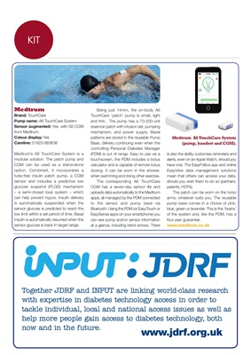 JDRF Input
